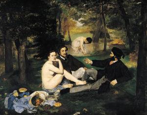 """""""Le déjeuner sur l'herbe"""" di Édouard Manet"""